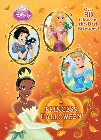 A Princess Halloween (Disney Princess) by Andrea Posner-Sanchez