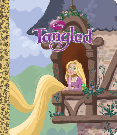 Tangled Big Golden Board Book (Disney Tangled) by