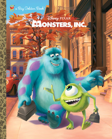 Monsters, Inc. Big Golden Book (Disney/Pixar Monsters, Inc.) by