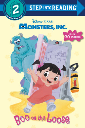 Boo on the Loose (Disney/Pixar Monsters, Inc.) by