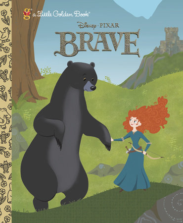 Brave Little Golden Book (Disney/Pixar Brave) by
