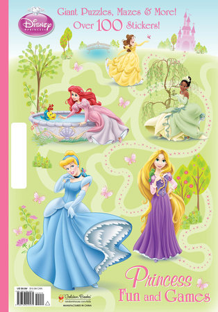 Princess Fun and Games (Disney Princess) by RH Disney