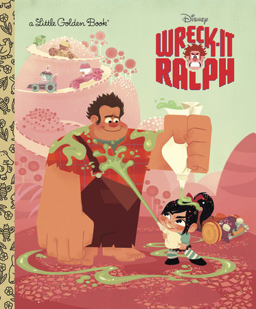 Wreck-It Ralph Little Golden Book (Disney Wreck-it Ralph) by RH Disney