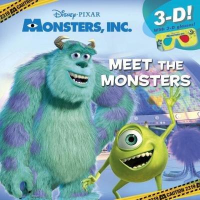 Meet the Monsters (Disney/Pixar Monsters Inc.) by