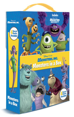 Monsters in a Box (Disney/Pixar Monsters University) by Andrea Posner-Sanchez