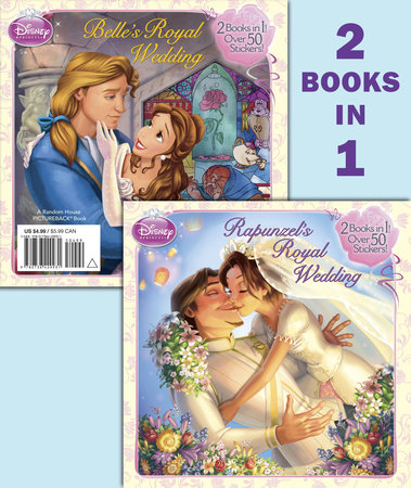 Rapunzel's Royal Wedding/Belle's Royal Wedding (Disney Princess) by RH Disney