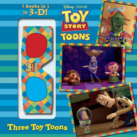 Three Toy Toons (Disney/Pixar Toy Story) by