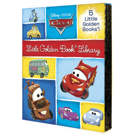 Cars Little Golden Book Library (Disney/Pixar Cars) by