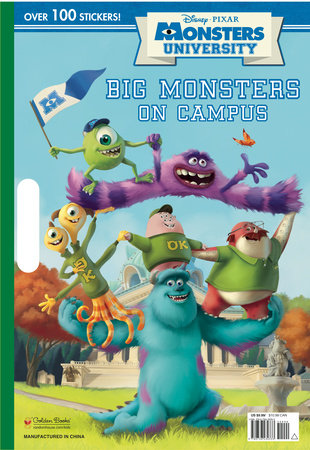 Big Monsters on Campus (Disney/Pixar Monsters University) by RH Disney