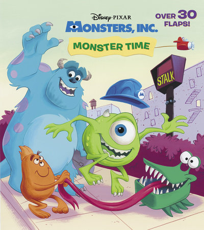 Monster Time (Disney/Pixar Monsters, Inc.) by