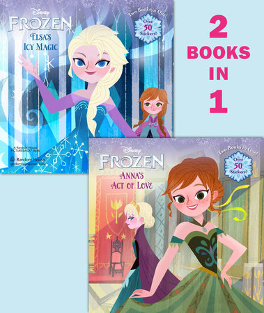 Anna's Act of Love/Elsa's Icy Magic (Disney Frozen) by