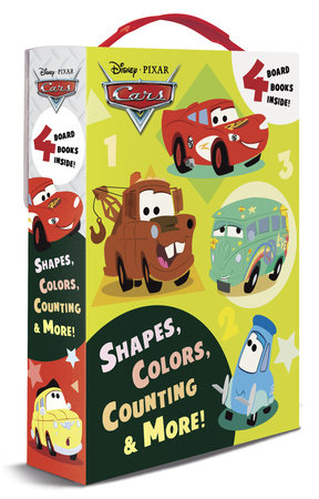 Shapes, Colors, Counting & More! (Disney/Pixar Cars) by