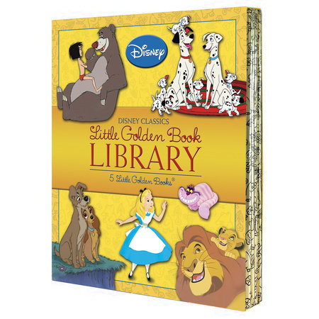 Disney Classics Little Golden Book Library (Disney Classic) by Various