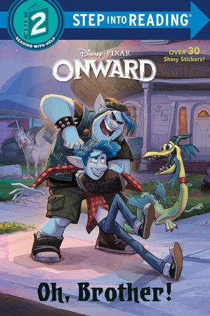 Onward Deluxe Step Into Reading #2 (disney/pixar Onward)