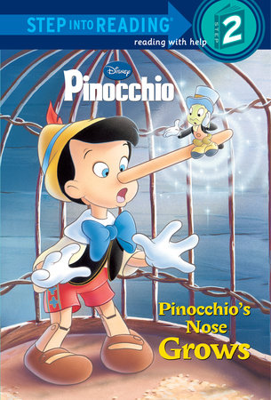 Pinocchio's Nose Grows (Disney Pinocchio) by