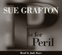 P Is For Peril Cover