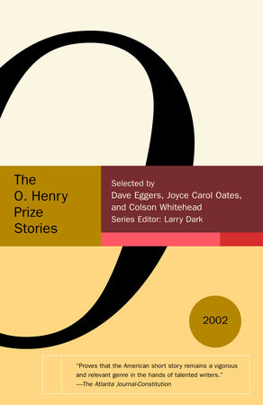 Selected Stories from the O. Henry Prize Stories 2002 book cover