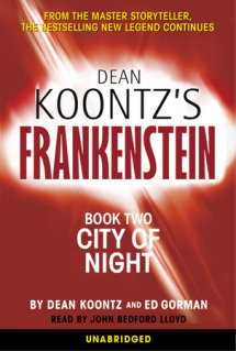 Frankenstein: City of Night Cover