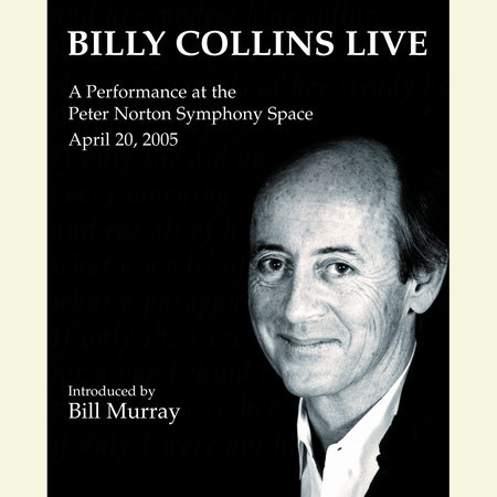 Billy Collins Live book cover
