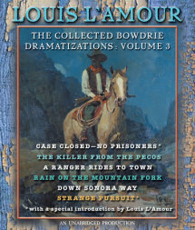 The Collected Bowdrie Dramatizations: Volume III Cover