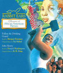 Rabbit Ears Treasury of African American Heroes Cover