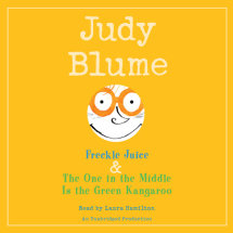 Freckle Juice & The One in the Middle Is the Green Kangaroo Cover