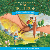 Magic Tree House #1: Dinosaurs Before Dark Cover
