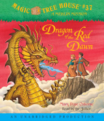 Magic Tree House #37: Dragon of the Red Dawn Cover