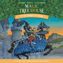 Magic Tree House #2: The Knight at Dawn Cover
