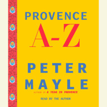 Provence A-Z Cover
