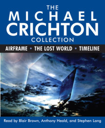 The Michael Crichton Collection: Airframe, The Lost World, and Timeline Cover