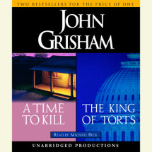A Time to Kill / The King of Torts Cover