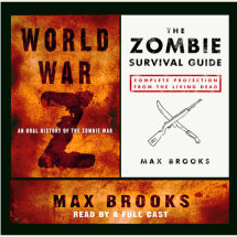 World War Z and The Zombie Survival Guide Cover