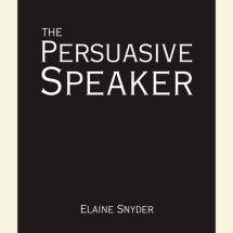 The Persuasive Speaker Cover