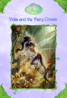 Disney Fairies: Vidia and the Fairy Crown Cover