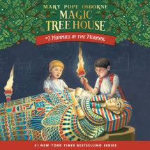 Magic Tree House #3: Mummies in the Morning Cover
