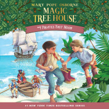 Magic Tree House #4: Pirates Past Noon Cover