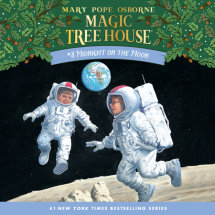 Magic Tree House #8: Midnight on the Moon Cover