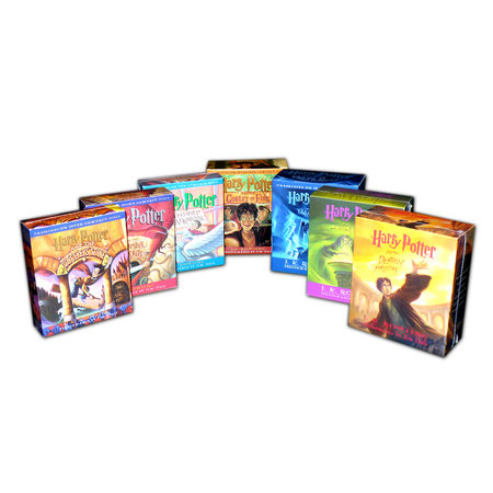 Harry Potter 1-7 Audio Collection by