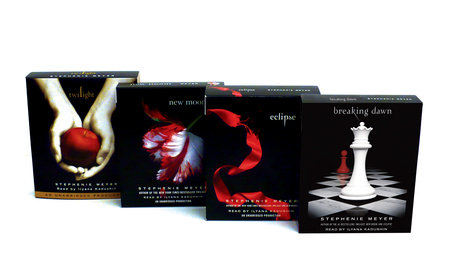 Stephenie Meyer: Twilight/New Moon/Eclipse/Breaking Dawn CD Ppk by