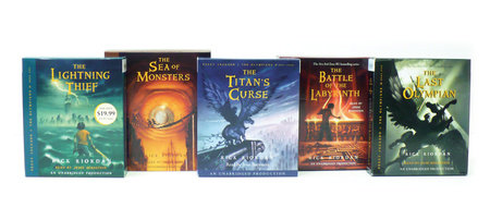 Percy Jackson and the Olympians books 1-5 CD Collection by Rick Riordan