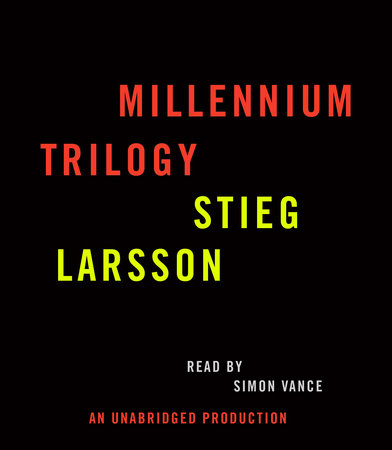 Stieg Larsson Millennium Trilogy Audiobook CD Bundle by