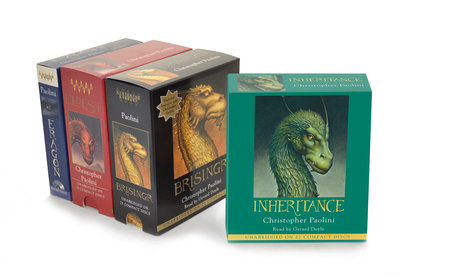The Inheritance Cycle Audiobook Collection by