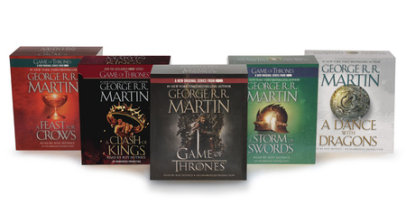 George R. R. Martin Song of Ice and Fire Audiobook Bundle