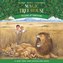 Magic Tree House #11: Lions at Lunchtime Cover