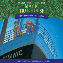 Magic Tree House #17: Tonight on the Titanic Cover