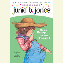 Junie B. Jones Has a Peep in her Pocket Cover