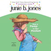 Junie B. Jones Has a Peep in her Pocket Cover