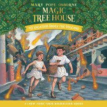 Magic Tree House #13: Vacation Under the Volcano Cover