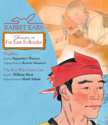 Rabbit Ears Treasury Far East Folktales Cover